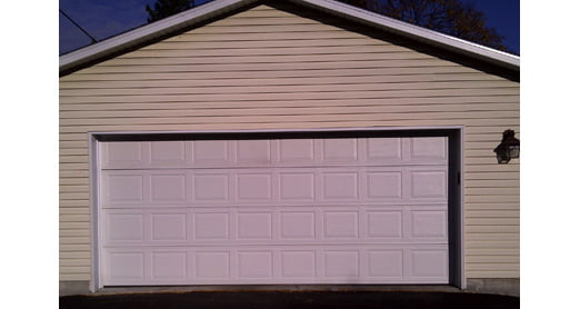 Re-Siding Garage