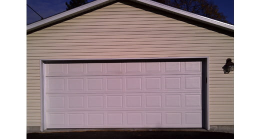 Garage Re-Siding Project