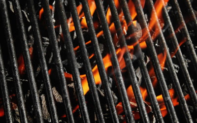 Grill Safety: Avoid Melted Vinyl Siding