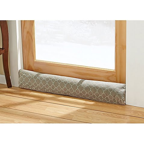 Winter draft snakes for windows and doors bestcan for Door draft stopper