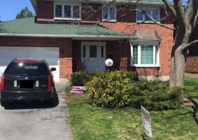 Stittsville: Windows, Chimney, Entry & Patio Door Updates
