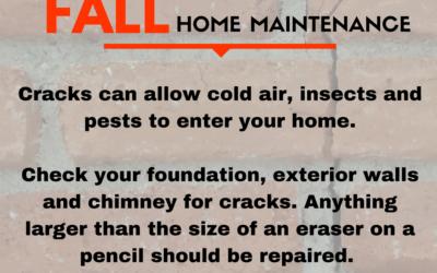Home Maintenance Tips – Foundation & Chimney Repairs