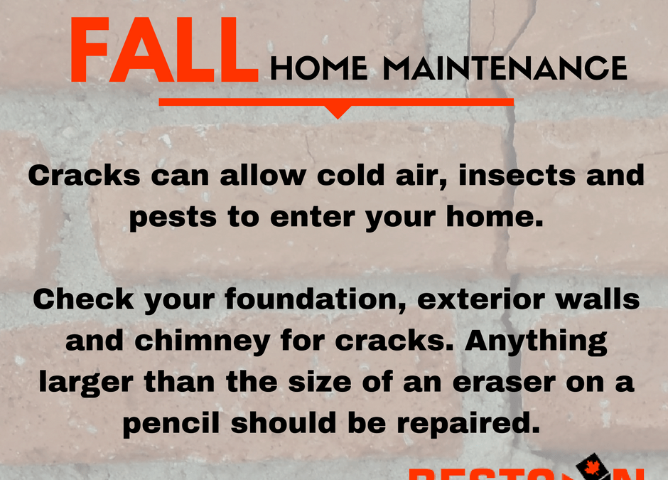 Home Maintenance Tips – Foundation & Chimney Repairs