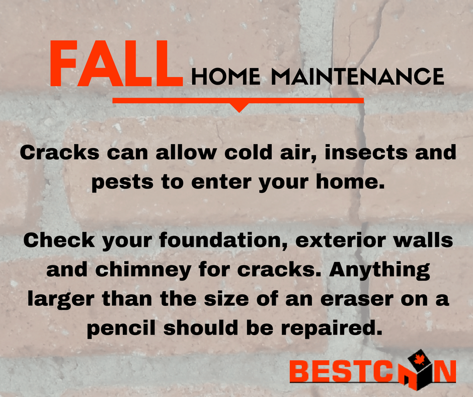 Fall Home Maintenance Tips fall home maintenance tips - foundation & chimney repairs