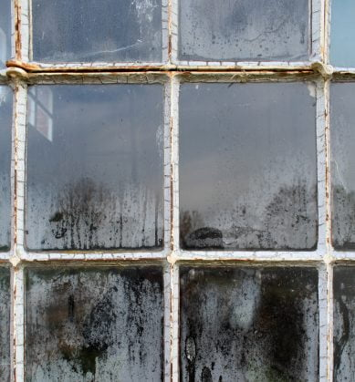 old window deterioration