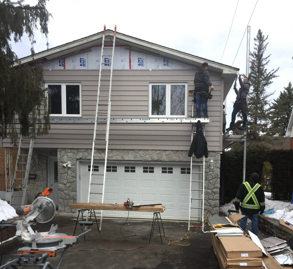 Vinyl Siding In Ottawa S Alta Vista Neighbourhood
