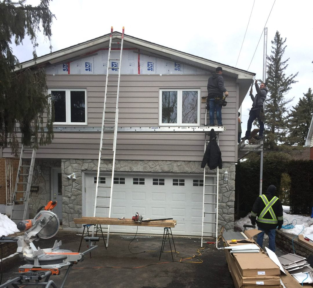 Vinyl Siding in Ottawa's Alta Vista Neighbourhood