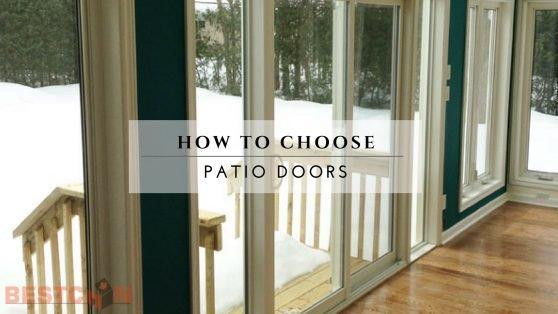 How To Choose Patio Doors