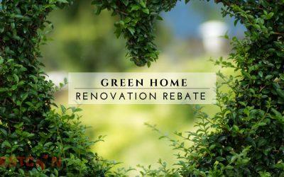 Green Home Renovation Rebate