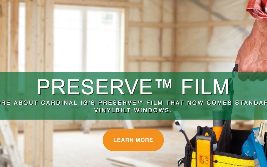VinylBilt Introduces Preserve Film