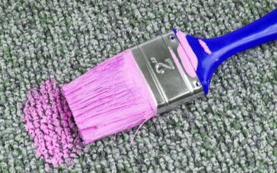 5 Simple Ways to Get Dried Paint Out of Your Carpet